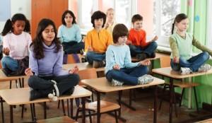 op school mediteren